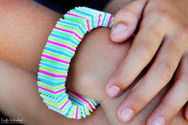 make bracelet string images How to plastic canvas diy bracelets jpg