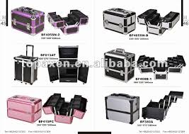 makeup artist box black portable professional makeup artist studio station rolling