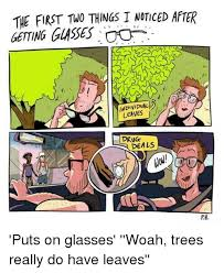 Puts On Glasses Meme - the first two things i noticed after getting glasses individual drug