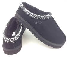 ugg tasman slippers on sale 30 ugg shoes ugg tasman s black scuffs slippers sz 9
