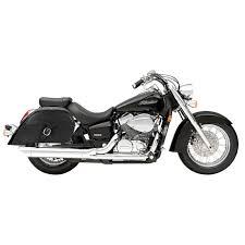 honda aero honda 750 shadow aero motorcycle saddlebags large charger single strap
