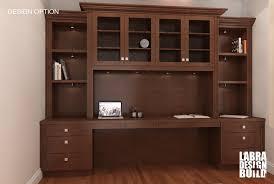 custom built desks home office traditional white painted maple built in desk northville mi