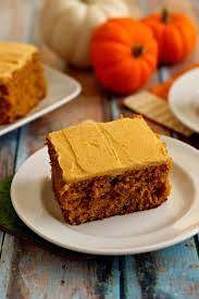 pumpkin spice cake with pumpkin cream cheese frosting pumpkin u0027n