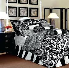 black and white bedroom comforter sets brown and white comforter bedroom piece embroidered comforter set