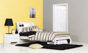benton white single kids bed bedshed bedshed