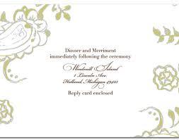 wedding good handmade wedding invitation template design for