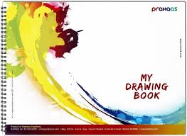 prahaas drawing books with butter paper sketch pad price in india
