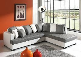 canapé d angle blanc pas cher canape beautiful canapé d angle gris et blanc pas cher high