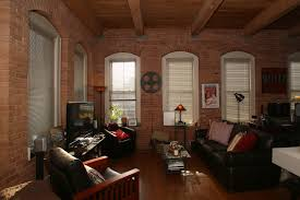 new york studio apartments brick wall best furniture decor ideas