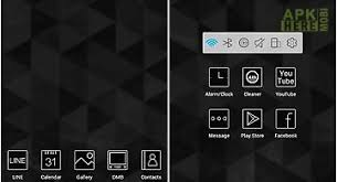 atom launcher apk black white launcher theme for android free at apk here