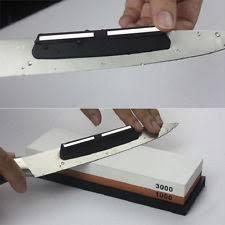 best whetstone for kitchen knives cutlery angle guide sharpener ebay