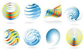 abstract logo templates eps free vector logo template