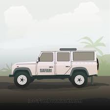 safari jeep front clipart truck clipart