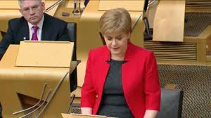 nicola sturgeon gets ready to u0027fill in the blanks u0027 and tell voters