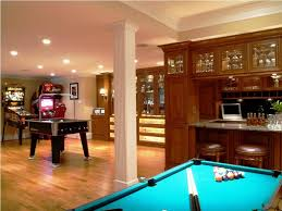 basement game room home