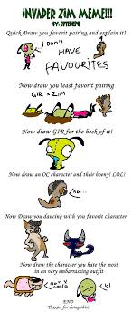 Invader Zim Memes - some invader zim meme xd by koala sam on deviantart