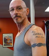 we asked people why they got tattoos of donald trump vice