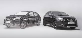 crossover nissan world u0027s largest 3d pen sculpture is a full sized nissan qashqai