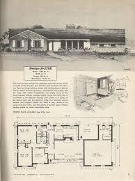 vintage house plans baby nursery mid century floor plans vintage house plans mid