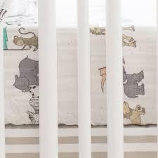 Muslin Crib Bedding Animal Muslin Crib Sheet Gauze Cotton Crib Sheet Animal