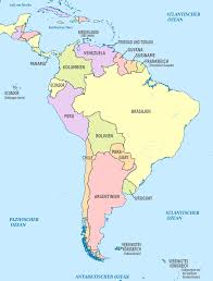 South America Map With Capitals by Postcards On My Wall South America Map Guyana Geo Map South
