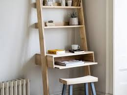 Container Store Leaning Desk 57 Ladder Shelves With Desk Best 25 Ladder Shelves Ideas On