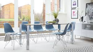 eames wire side table 6 seater glass dining table eames wire frame dining set uk