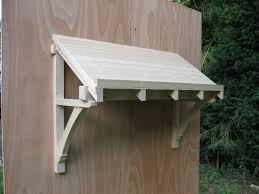 Awning Kits Magnificent Ideas Wood Awning Kit Exquisite Timber Door Canopies