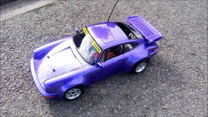 purple porsche 911 kyosho 31318 1 10 rc super scale porsche 911 turbo gp purple