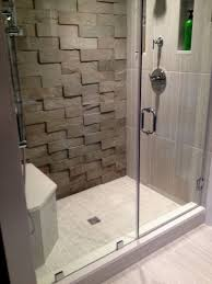 Shower Wall Ideas by Tile For Shower Walls With Ocean Pebble Tile Shower Wall Accent