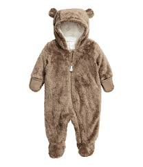 grizzly bear halloween costume pile snuggle suit light taupe sale h u0026m us