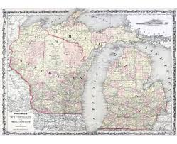 Maps Of Wisconsin the great northern route across wisconsin road trip usa map usa