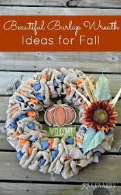 crochet halloween wreath burlap wreaths 3 beautiful diy craft ideas