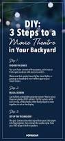 best 25 backyard movie theaters ideas on pinterest outdoor