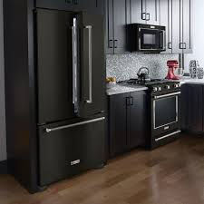 gray kitchen cabinets with black stainless steel appliances home trend black stainless steel appliances diy