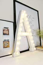 light up letters diy how to decorate with diy marquee letters blissfully domestic