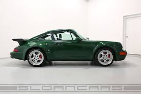 irish green porsche 1994 porsche 964 3 6 turbo paint to sample irish green sloan cars