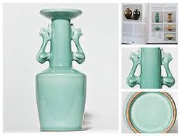 Chinese Celadon Vase Chinese Kinuta Seiji Celadon Vase Song Yuan Period Ex Museum