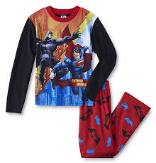 pajamas boys size 14 16 xl batman vs superman shirt set dc