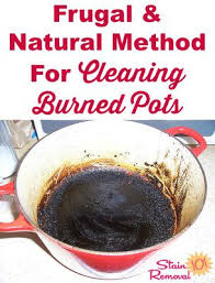 Baking Soda Upholstery Cleaner Cleaning Burned Pots With Baking Soda