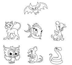 37 colouring monster images