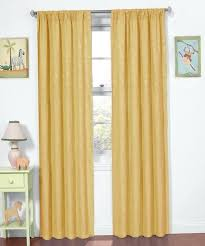 Yellow Blackout Curtains Nursery Yellow Black Out Curtains Yellow Chenille Fabric Blackout Curtain