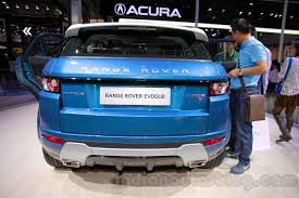 range rover evoque rear china made range rover evoque goes on sale from feb 1