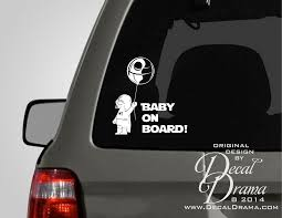 reversible grid skirt graphic wall and babies baby on board with baby darth vader holding death star balloon star wars inspired with