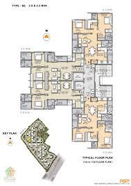 floor plan olympia grande at pallavaram chennai