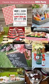 Backyard Wedding Setup Ideas Plan A Hip And Modern Rehearsal Dinner Bbq Unique Wedding Ideas