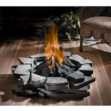 gas log fire pit table napoleon gas log fire pit fire pits for decks fine s gas
