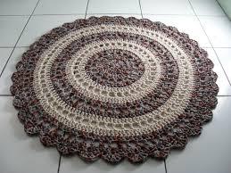 Crochet Oval Rag Rug Pattern Free Tutorial Http Craft Tutsplus Com Tutorials Crochet Crochet