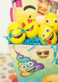 foam easter eggs the easiest diy emoji easter eggs for tweens perkins