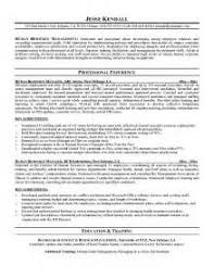 Hr Generalist Sample Resume by Hr Generalist Resume Sample Legal Recruiter Sample Resume Business